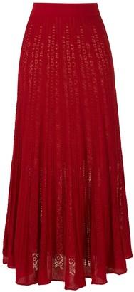 Cecilia Prado knitted Mercedes midi skirt