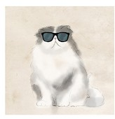 PTM Images Cool Cat I Canvas Wall Art