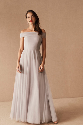 Jenny Yoo Ryder Convertible Dress By in Purple Size 12