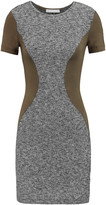 Kain Label Oliver cotton-blend bouclé and jersey mini dress