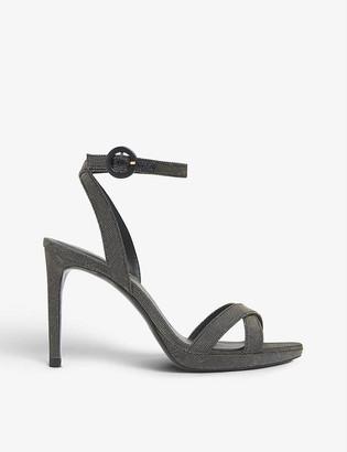 LK Bennett Neath open-toe heeled woven sandals
