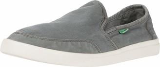 Sanuk Vagabond Slip-On Sneaker Charcoal 8.5