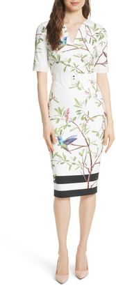 Ted Baker Highgrove Body-Con Dress