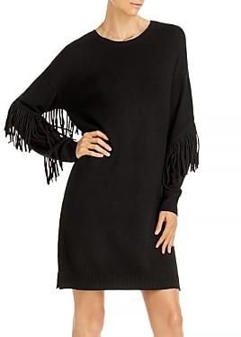 Aqua Fringe Sleeve Sweater Dress - 100% Exclusive