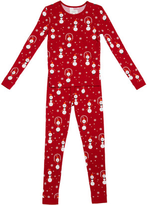 Bedhead Pajamas Juggling Snowman Family Pajama Set, Size 2-12