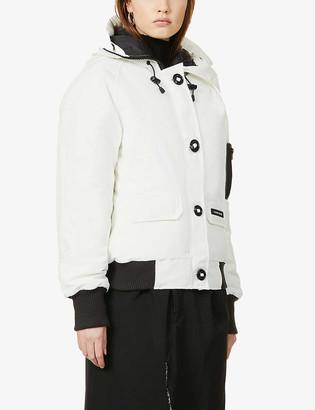 Canada Goose Chilliwack hooded cotton-blend bomber jacket