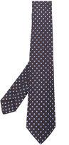Kiton geometric print tie - men - Silk - One Size