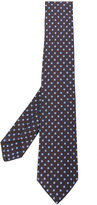 Kiton geometric print tie