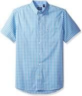 Izod Men's Advantage Performance Non Iron Stretch Short Sleeve Shirt