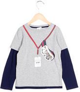Gucci Boys' Layered Graphic Print T-Shirt