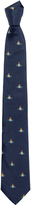 Vivienne Westwood Orb Tie Dark Blue One Size
