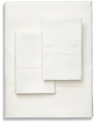 Frette Lux Percale Ivory Sheet Set