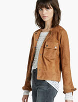 Lucky Brand Suede Pocket Jacket