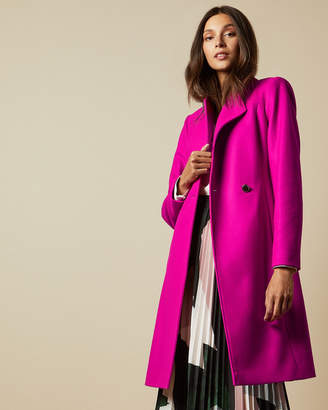 Ted Baker SKYYLER Long belted wrap coat