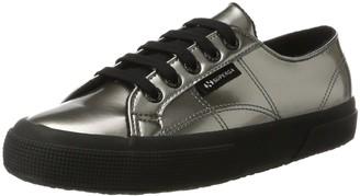 Superga Women's 2750-varnishmirrorw Trainer Shoes - Grey (Grey Silver) 5.5 UK