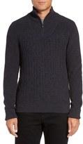Vince Camuto Men's Quarter Zip Sweater