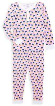 Roller Rabbit Little Girl's & Girl's Pina & Colada 2-Piece Pajama Set