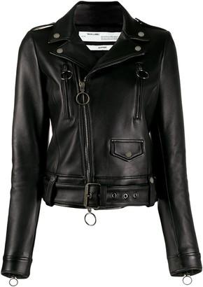 Off-White Diagonal Arrows biker jacket