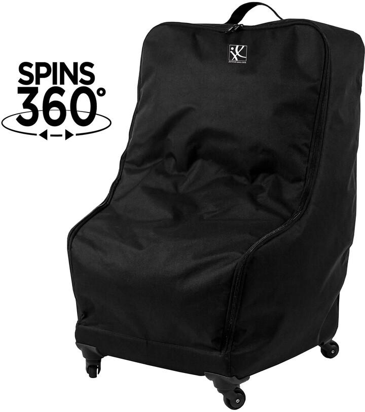 J L Childress Spinner Wheelie Deluxe Car Seat Travel Bag