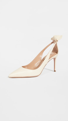 Aquazzura Bow Tie Pumps 85mm