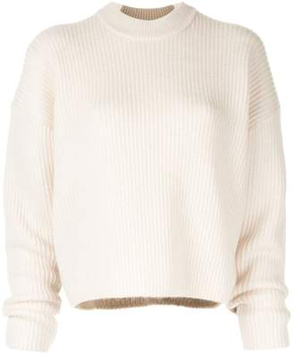 CK Calvin Klein long-sleeve fitted sweater