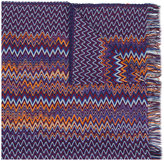 Missoni patterned knit scarf - women - Nylon/Viscose/Wool - One Size