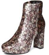 Dorothy Perkins Womens Floral Velvet 'Anastasia' Ankle Boots- Multi Colour