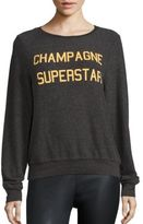 Wildfox Couture Champagne Superstar Sweatshirt