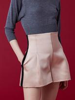Diane von Furstenberg High-Waisted Pleated Short