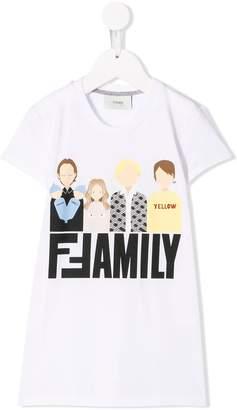 Fendi FF Family T-shirt