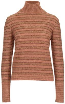 Chloé Metallic Striped Sweater