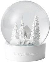 Wedgwood Christmas Scene Snow Globe