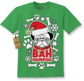 Expression Tees Kids Bah HumPug Dog Pug T-Shirt