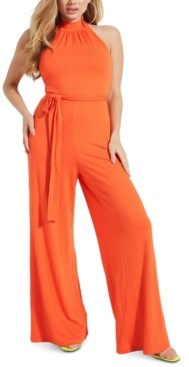 GUESS Alondra Belted Jumpsuit