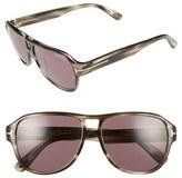 Tom Ford 'Dylan' 57mm Sunglasses