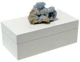 Mapleton Drive Medium Lacquer Box with Natural Mineral