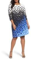 Tahari Plus Size Women's Jersey Sheath Dress