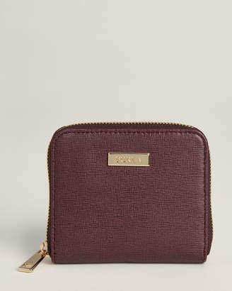 Furla Bordeaux Classic Small Saffiano Zip-Around Wallet