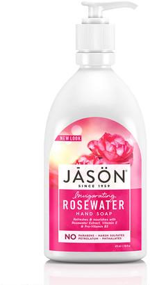 Jason Invigorating Rosewater Pure Natural Hand Soap 473Ml