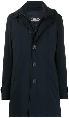 Herno Single-Breasted Padded Jacket