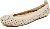 Yosi Samra Samara Star Perforated Flats
