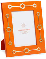 """Jonathan Adler Turner Lacquer Frame, Orange, 5"""" x 7"""""""