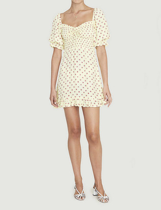 Faithfull The Brand Sage floral-print crepe mini dress