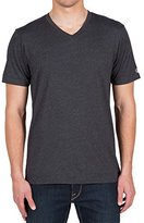 Volcom Men's Heather Short Sleeve V-Neck Tee
