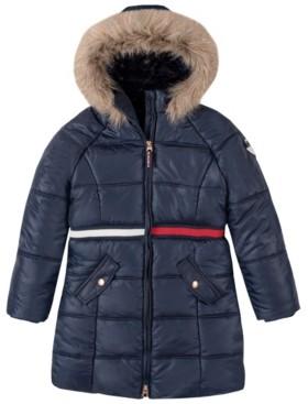 Tommy Hilfiger Little Girls Long Puffer Jacket