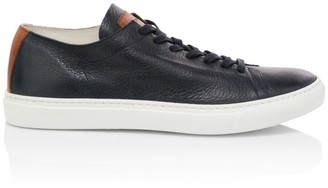 To Boot Ferrara Soft Deerskin Leather Sneakers