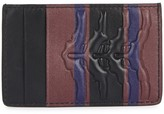 Alexander McQueen Ribcage Leather Card Holder