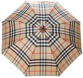 Burberry checked umbrella