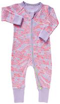 Bonds Baby Ribby Long Sleeve Wondersuit, Lavendar