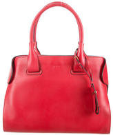 Tod's Leather Cape Tote